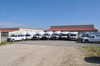 Lindahl Marine's fleet of vehicles