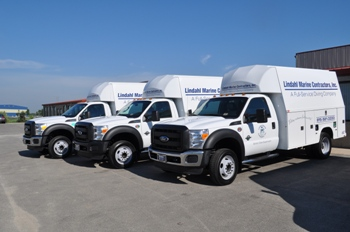 Three newest fleet vehicles